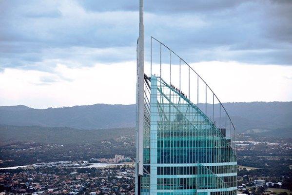 SkyPoint Climb at Q1 Building