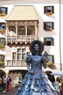 16th century Golden Roof in Innsbruck