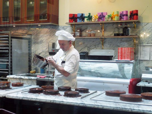 Sacher-Tortes on show