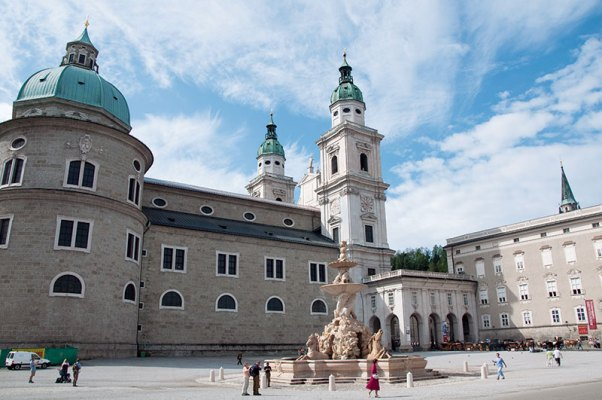 Cathedral Square in Salzburg