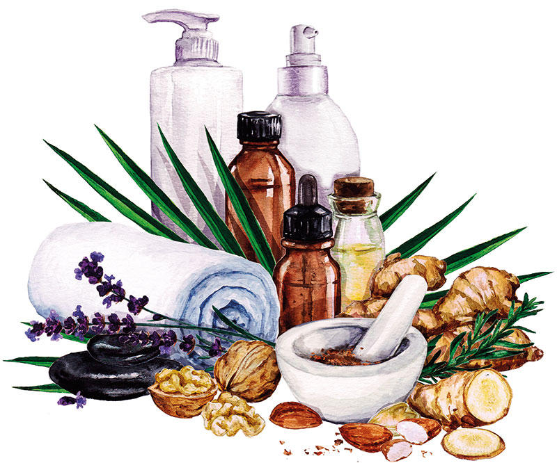 Beauty, Traditional Hair Oils