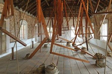 Bharti Kher's Kochi Biennale installation