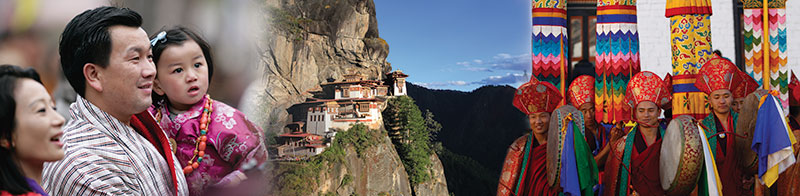 Family's day out, Taktsang monastery: floating  on the clouds, Royal celebrations