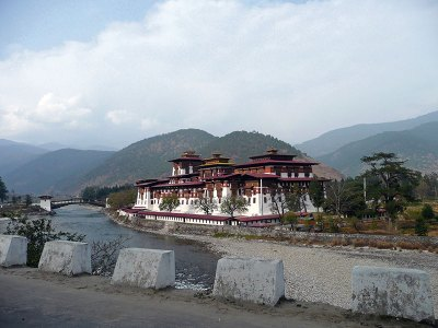 Punakha Dzong: palace of great happiness