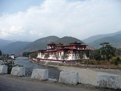 Punakha Dzong: palace of great happiness