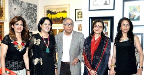 Bina Aziz, Piali Syam, YK and Rekha Sapru, Shobhaa De