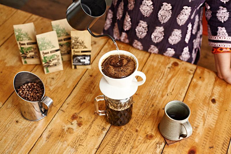 Black Baza Coffee, Arshiya Bose