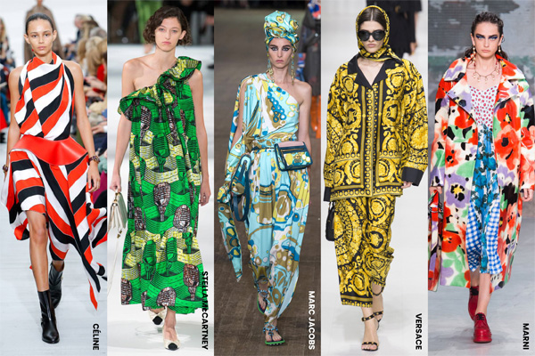 Bold, Céline, Chloe, Diane Von Furstenberg, Dolce & Gabbana, Fashion, Featured, Hermes, Louis Vuitton, Marc Jacobs, Marni, Motifs, Online Exclusive, Paul Smith, Prints, Silhouettes, Stella Mccartney, Style, Valentino, Versace