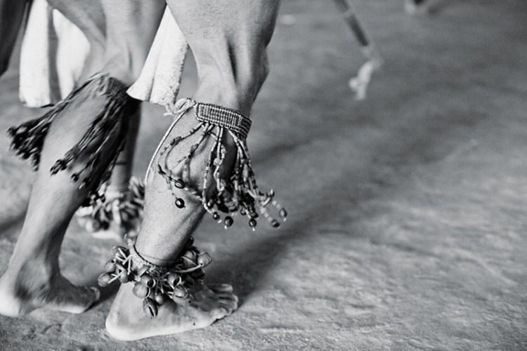 Indigenous ceremonial dance along the Alto Rio Negro, Amazonas