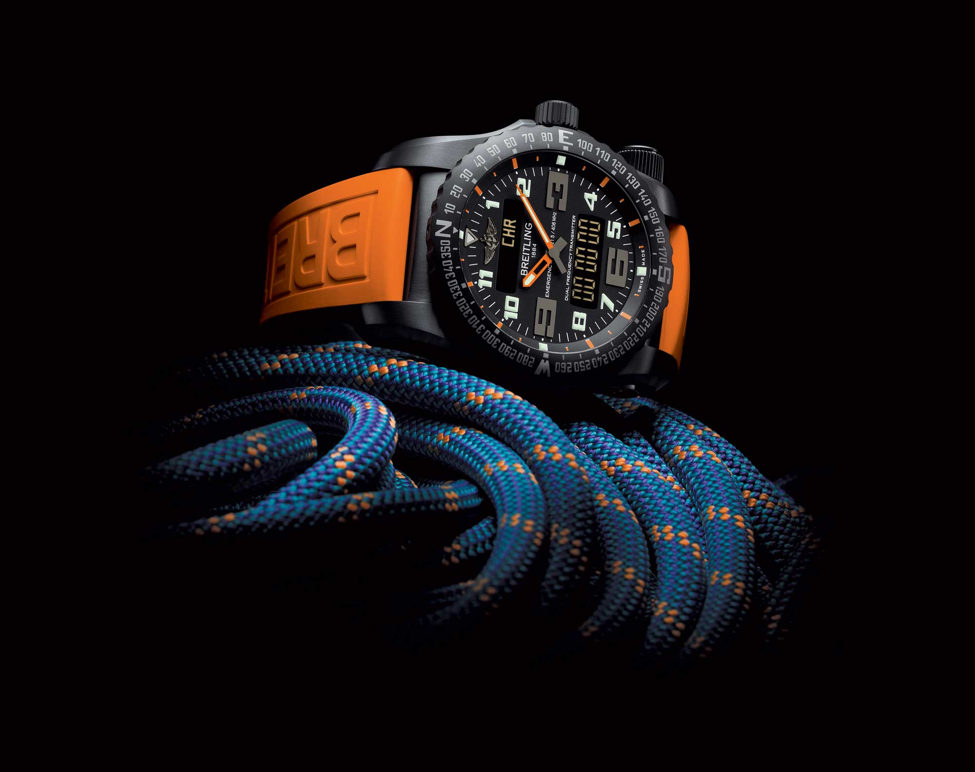 Breitling, Emergency Night Mission, Watches, Sports