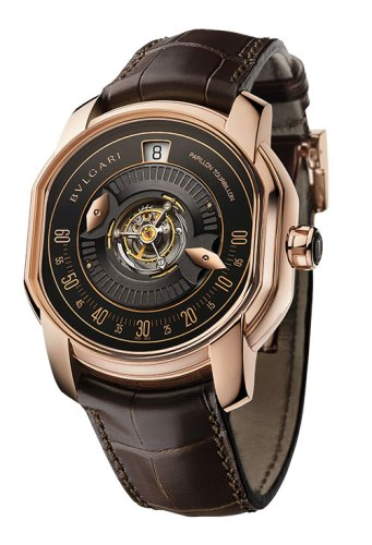 The papillon tourbillon central
