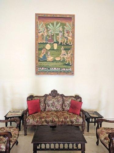 Interiors of the Hadoti Palace Hotel