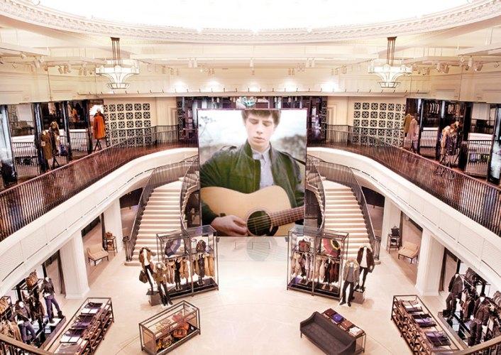 Burberry Regent Street flagship store