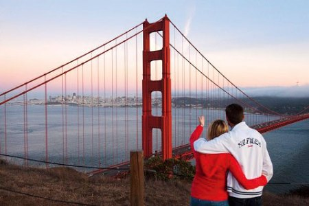 The romance of the Golden Gate Bridge