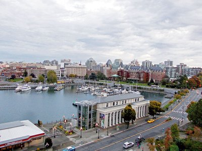 Victoria, capital city of British Columbia, home to historical architectural gems