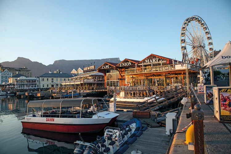 Victoria and Albert Waterfront — restaurants with a view