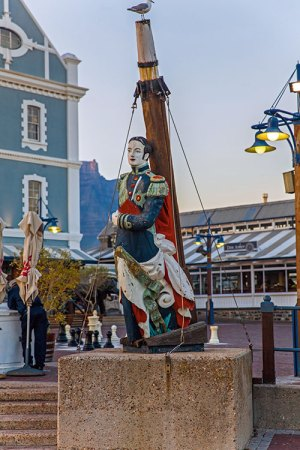 Detail on the V&A Waterfront