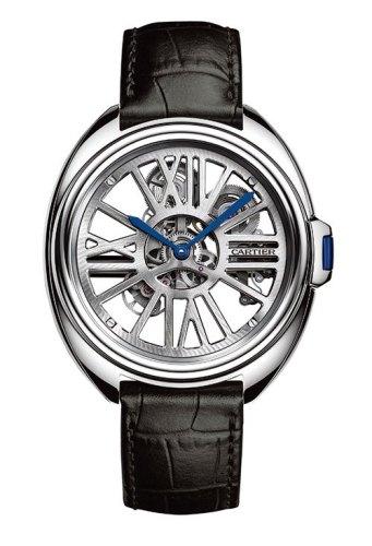 Clé De Cartier Automatic Skeleton Calibre 9621 MC, watches,