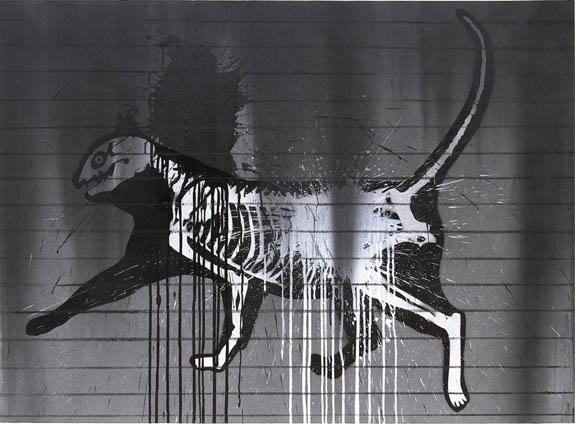 Subhakar Tadi, art district XIII in New Delhi, art show, monochromes