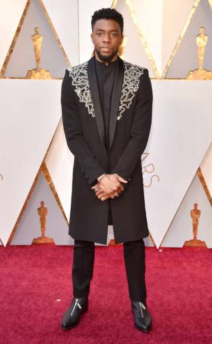 Chadwick Boseman in Givenchy