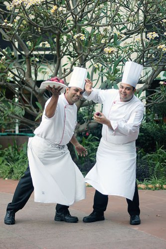Chef Ravish Mishra and Chef Ashish Naranje