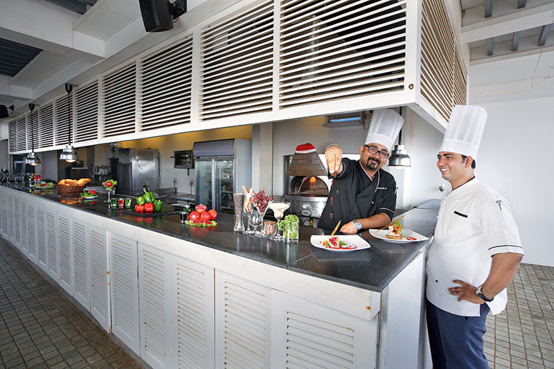 Chef Zorawar Singh Ahluwalia and Chef Sunil Rathod
