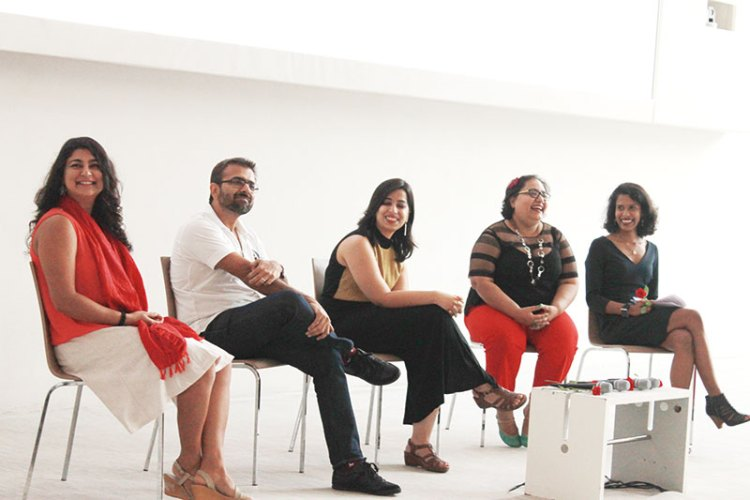 Chhavi Sachdev, Sachin Bhatia, Taru Kapoor, Paromita Vohra and Vishnupriya Das at the India LSD panel