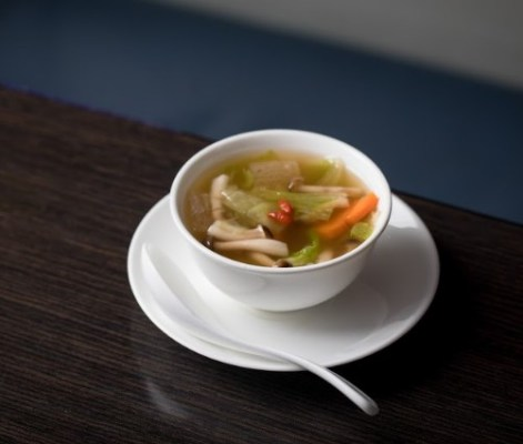 Chinese wild mushroom soup
