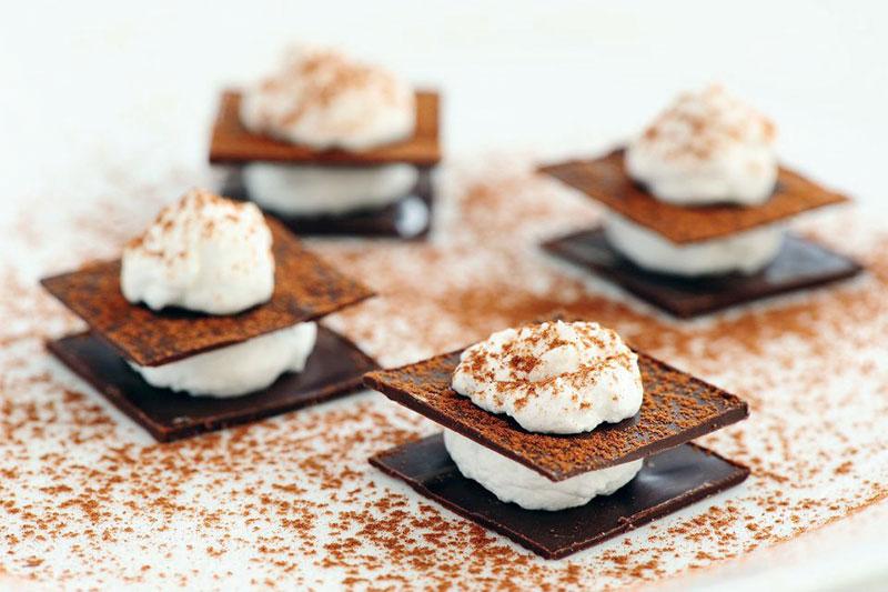 Chocolate Muille Fuille
