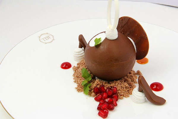 Chocolate Sphere