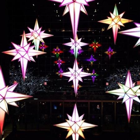 Traditional Christmas lanterns called parols