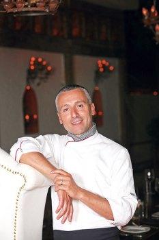 Chef Andrea Sposini