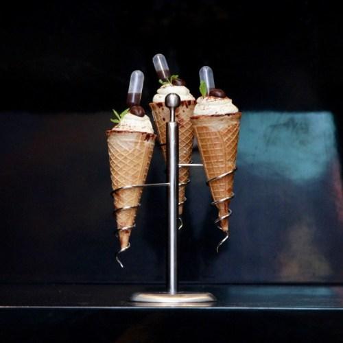 Classic Tiramisu Cones