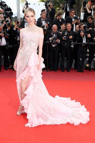 Coco Rocha in Georges Hobeika Couture