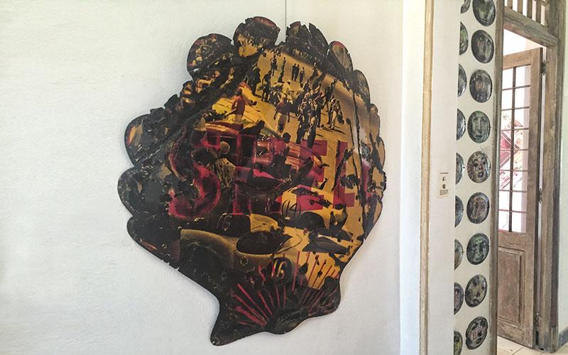 An example of Kadir Lopez Nieves' signature work