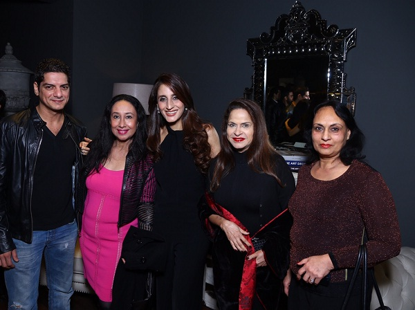 Guests at Gauri Nainika's store launch in New Delhi
