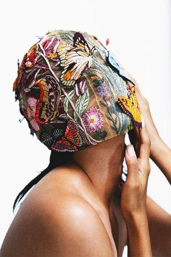 Face mask, by Rahul Mishra