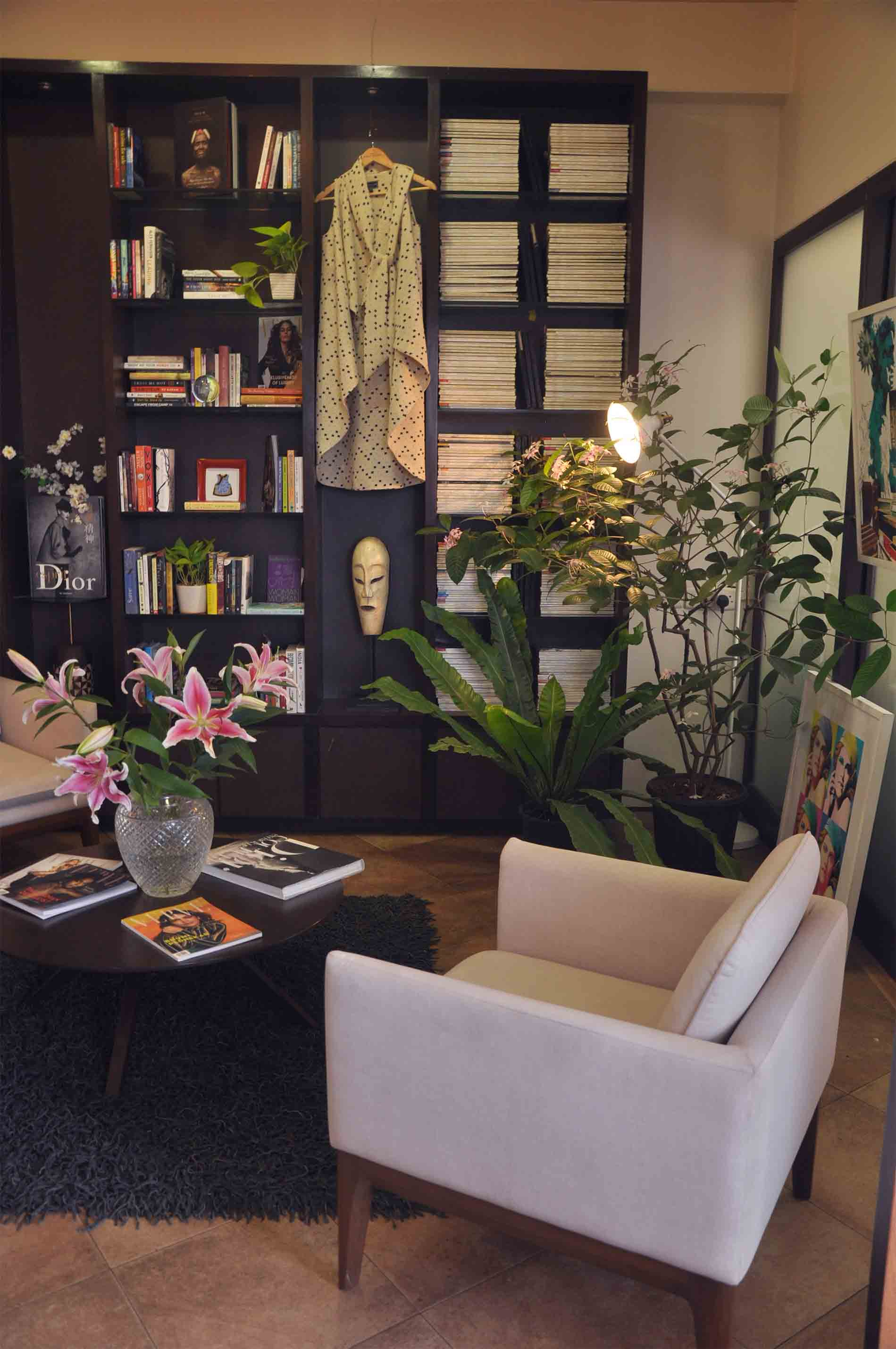 As a little treat furniture store red blue s iconic office in sobos colaba with a few key pieces of minimal furniture and