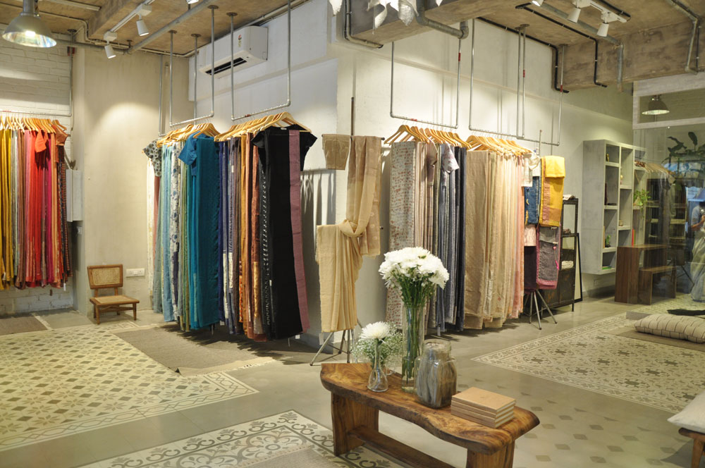 Anavila store launch in Mumbai, Anavila Misra, Home decor, saris, Fashion