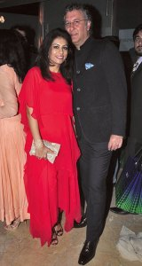 Deepika and Ajay Gehani