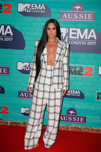 Demi Lovato in Styland