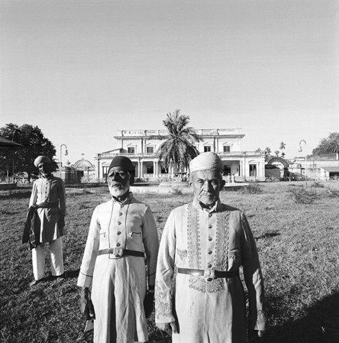 Palace Guard, Chowmahalla Palace, Hyderabad, 1976, Silver gelatin print
