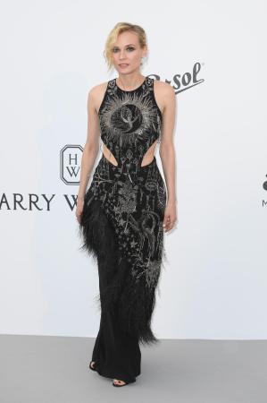 Diane Kruger in Alexander McQueen