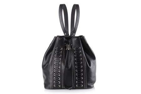 Diesel Black and Gold Thebe bag