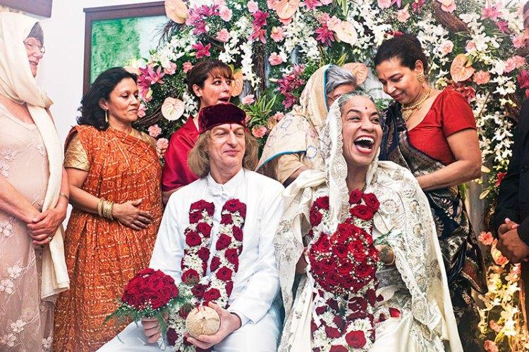 Dinaz Stafford weds Matt Black