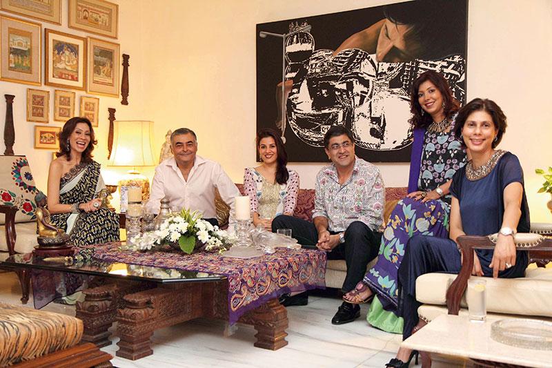 Divya Mohta, Flamboyant hostess and designer, Tambourine