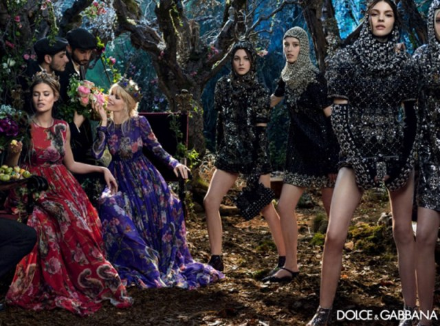 Dolce & Gabbana Fashion AW 2014 campaigns