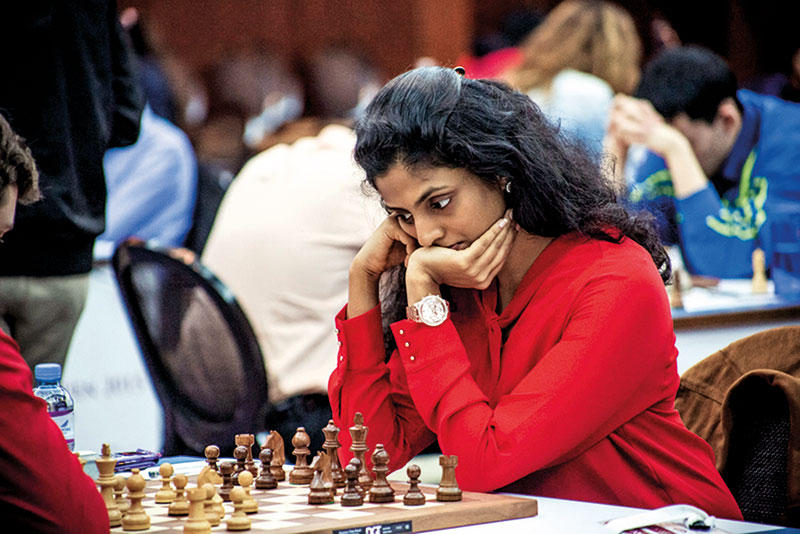 Dronavalli Harika, Chess Player