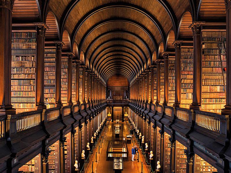 The Long Room At Trinity College, Dublin, Ireland