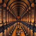 The Long Room At Trinity College, Dublin, Ireland